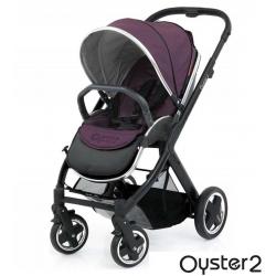BabyStyle Oyster 2 kočárek Black / Vogue Damson 2015