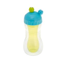 Brother max - Sportovní lahev s chladicím tělem na 2 nápoje - modrá/zelená