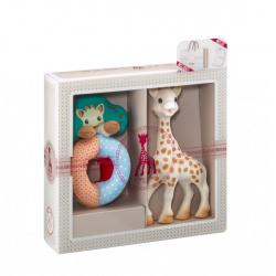 Vulli Dárkový set - žirafa Sophie & chrastítko ''Sense & Soft''