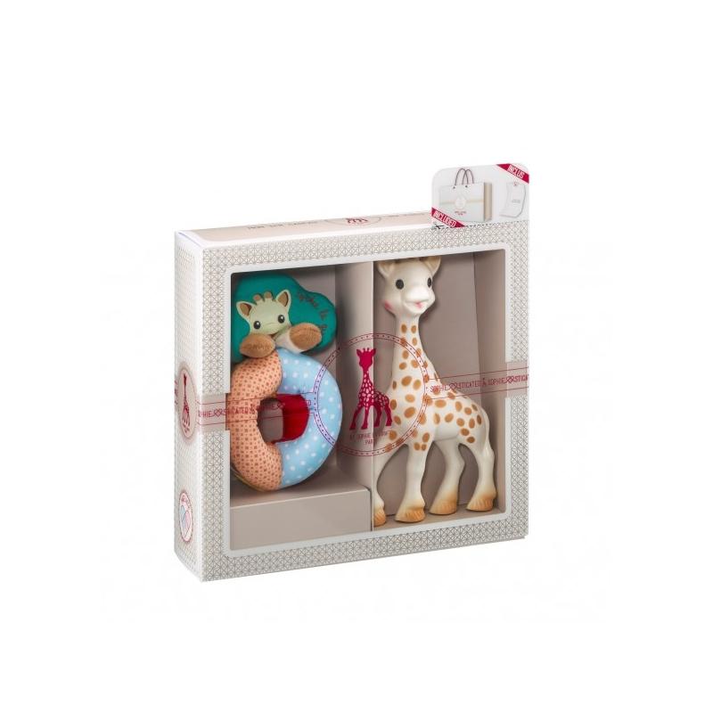 a89bc342a932 Vulli Dárkový set - žirafa Sophie + chrastítko   Sense   Soft ...