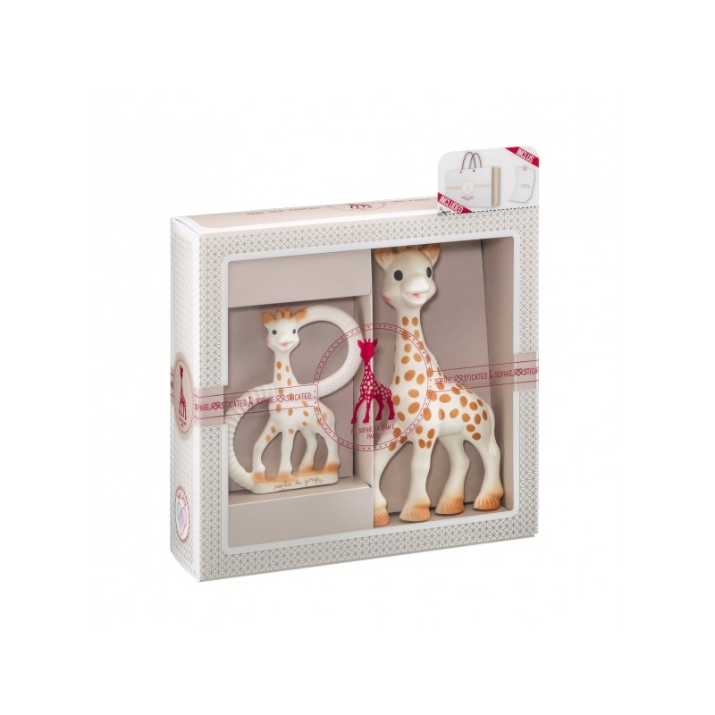 d139a4bc331 Vulli Dárkový set - žirafa Sophie + kousátko - BABYHOLDING