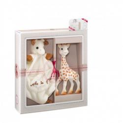 Vulli Dárkový set - žirafa Sophie & mazlík