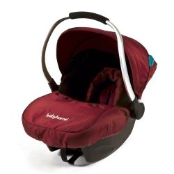 BABYHOME EGG0+ autosedačka  (0-13 kg) - Rouge