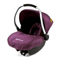 BABYHOME EGG0+ autosedačka  (0-13 kg) - Purple