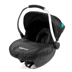 BABYHOME EGG0+ autosedačka  (0-13 kg) - Black