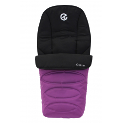 BabyStyle Oyster footmuff 2016, Grape