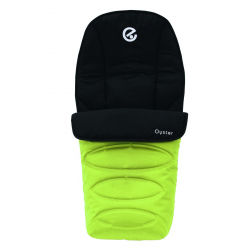 BabyStyle Oyster footmuff 2016, Lime