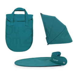 BabyStyle Oyster 2/ Max Carrycot Color Pack, Teal 2016