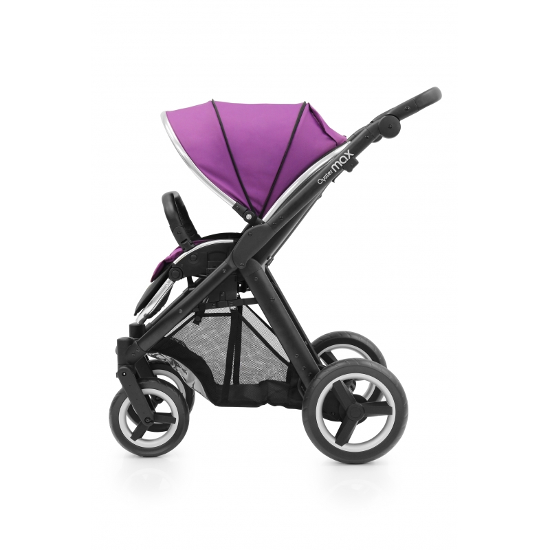 BabyStyle kočárek Oyster Max Black / Grape 2016