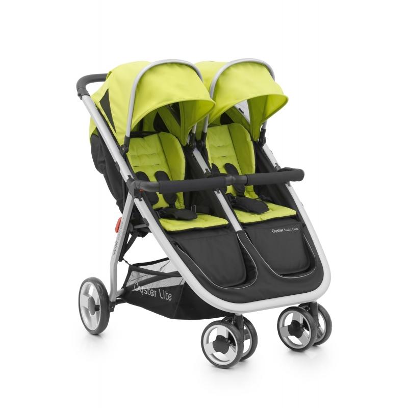 BabyStyle Oyster Twin Lite kočárek Lime 2016