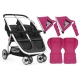 BabyStyle Oyster Twin Lite kočárek Hot Pink 2016