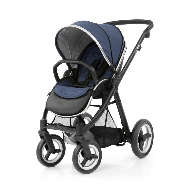 BabyStyle kočárek Oyster Max Black/Oxford Blue 2019