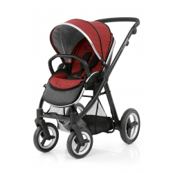 BabyStyle stroller Oyster Max Black/Tango Red 2018