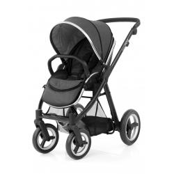 BabyStyle kočárek Oyster Max Black/Tungsten Grey 2019