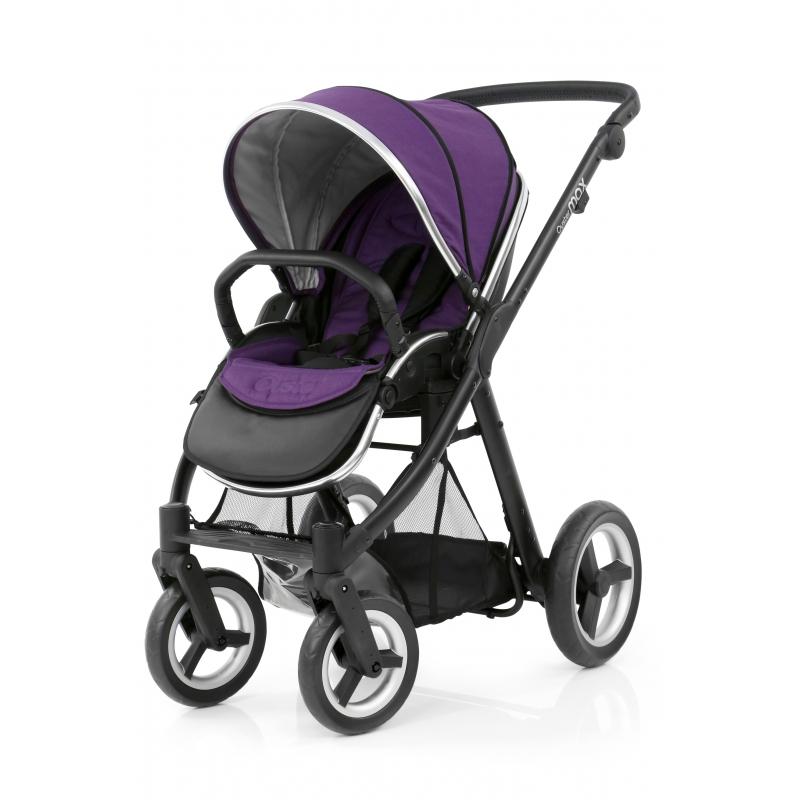 BabyStyle kočárek Oyster Max Black/Wild Purple 2018
