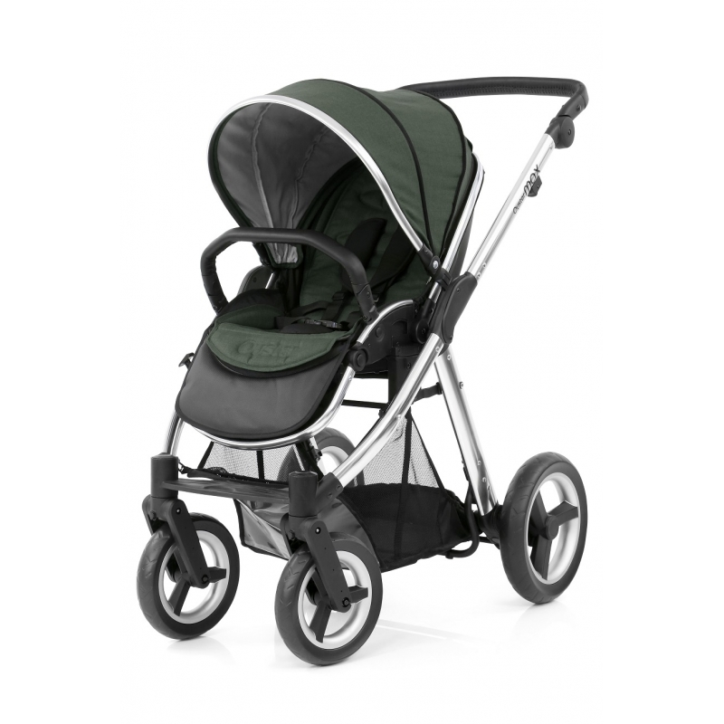 BabyStyle kočárek Oyster Max Mirror/Olive Green 2019