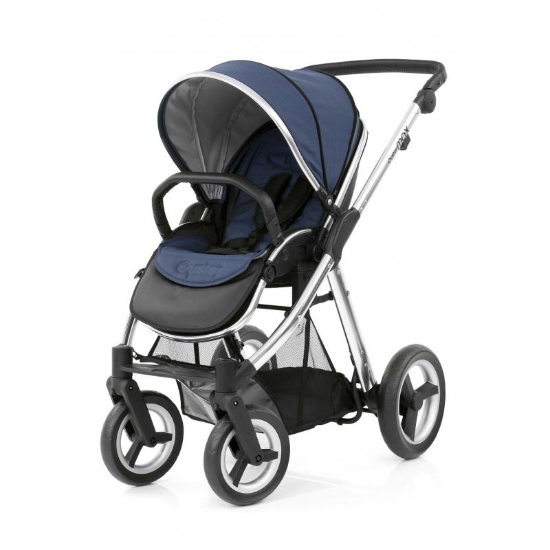 BabyStyle kočárek Oyster Max Mirror/Oxford Blue 2019