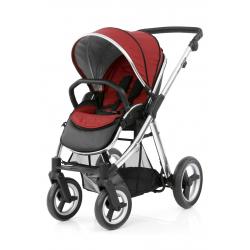 BabyStyle kočárek Oyster Max Mirror/Tango Red 2018
