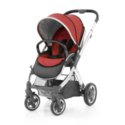 BabyStyle Oyster 2 stroller Mirror/Tango Red 2018