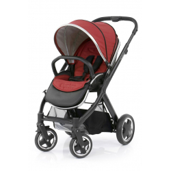 BabyStyle Oyster 2 stroller Black/Tango Red 2018
