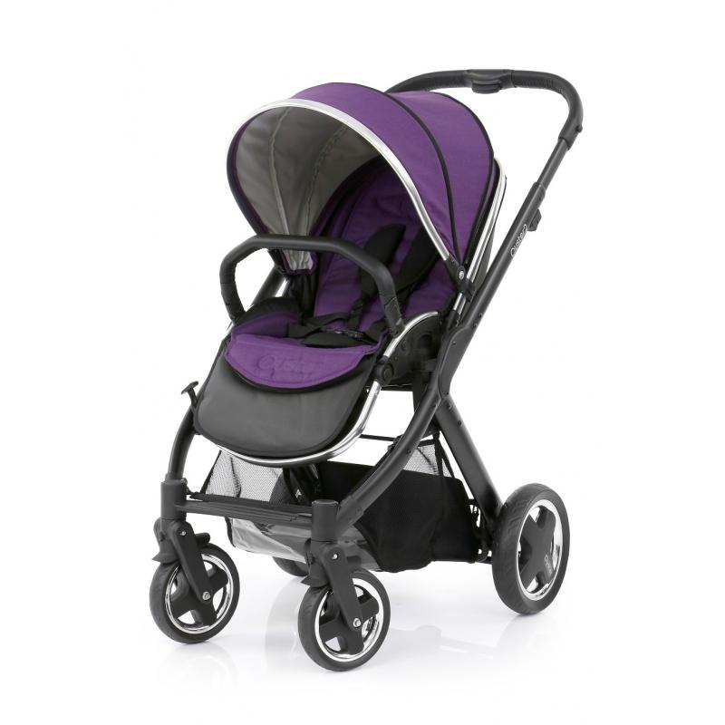 BabyStyle Oyster 2 kočárek Black/Wild Purple 2017