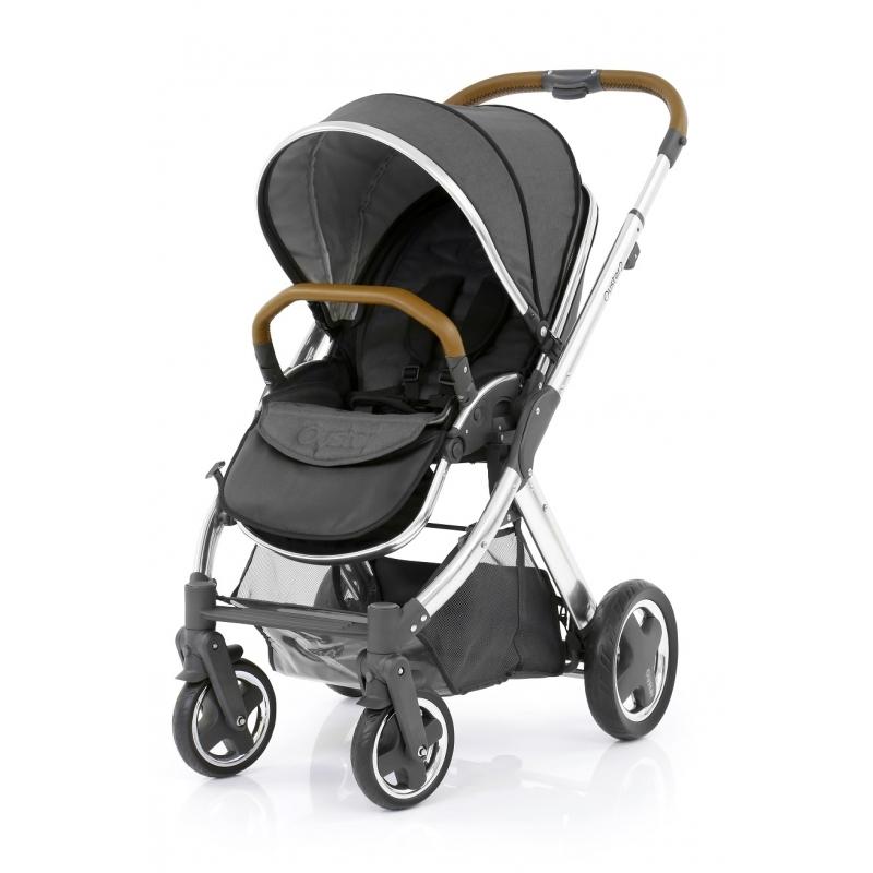 BabyStyle Oyster 2 kočárek Mirror Tan/Tungsten Grey 2019