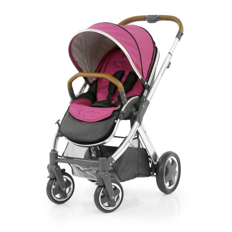 BabyStyle Oyster 2 kočárek Mirror Tan/Wow Pink 2017