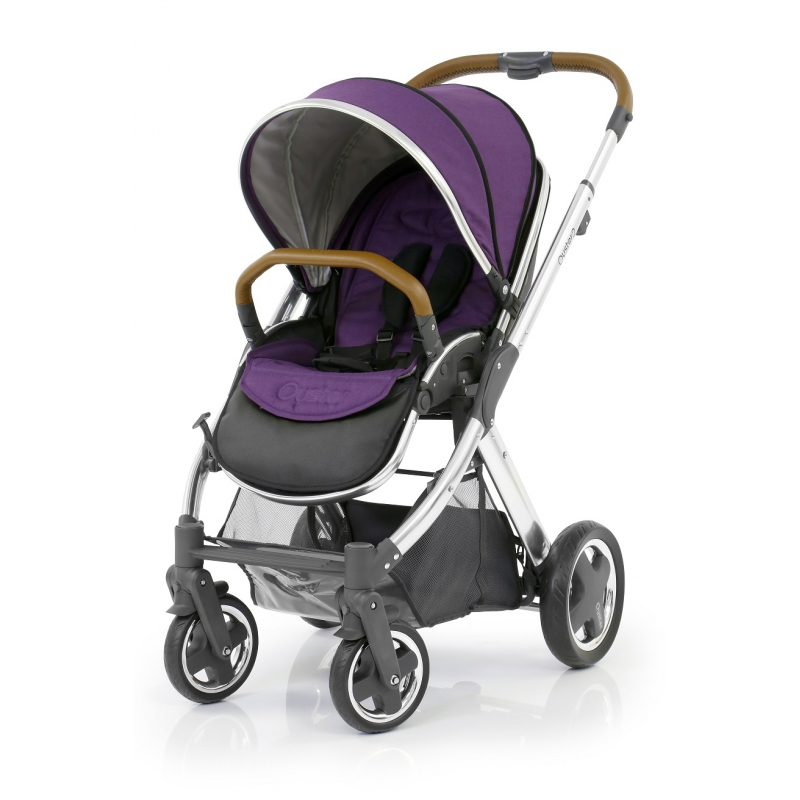 BabyStyle Oyster 2 kočárek Mirror Tan/Wild Purple 2017