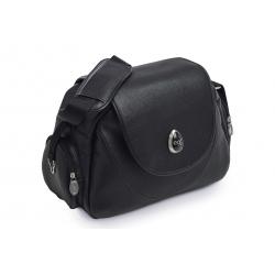 BabyStyle EGG prebaľovacia taška Black Leather