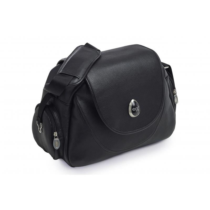 Kožená taška EGG - black