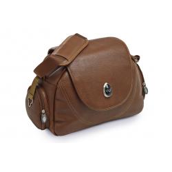 BabyStyle EGG prebaľovacia taška Tan Leather