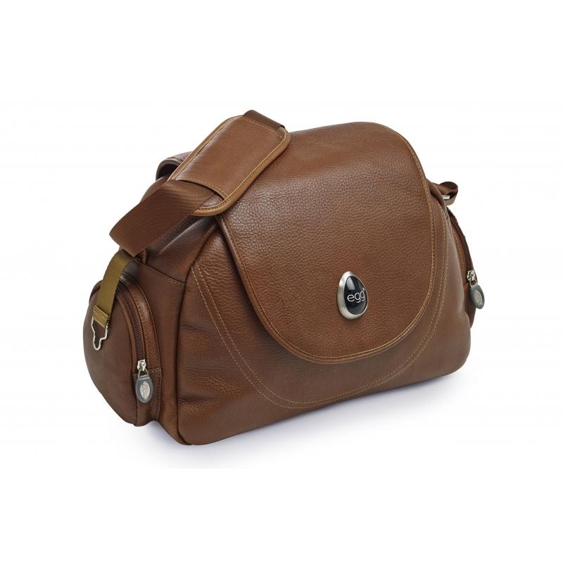 BabyStyle EGG přebalovací taška Tan Leather
