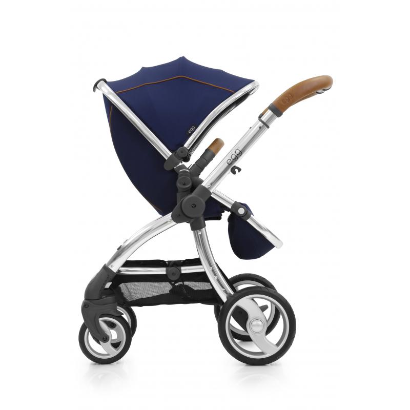 BabyStyle EGG kočárek PETROL BLUE / GUN METAL rám 2015
