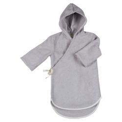 Koeka Dětský župan Venice - silver grey