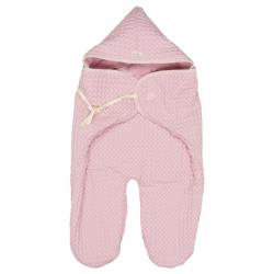 Koeka Zavinovačka Oslo waffle/teddy - old baby pink