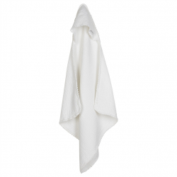 Koeka Osuška s kapucí Elba Lace - white