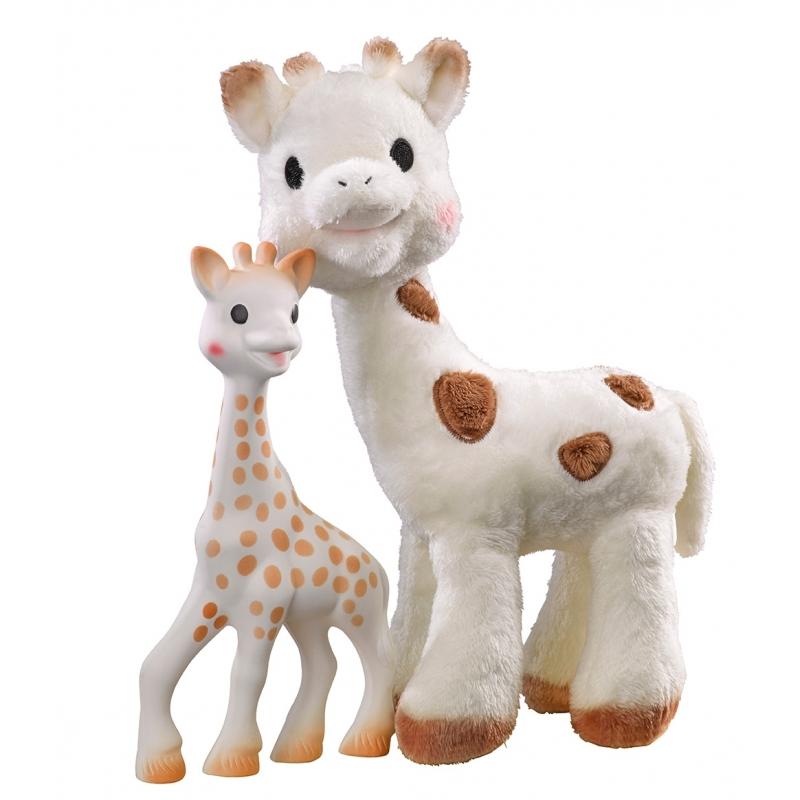 736bef1e413 Vulli Set žirafa Sophie + plyšová žirafka Sophie Chérie - BABYHOLDING