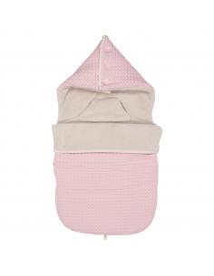 Koeka Fusak do autosedačky Oslo - old baby pink/pebble