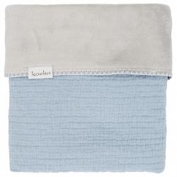 Koeka Deka Elba teddy 75x100 - soft blue/silver grey