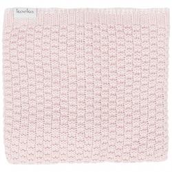 Koeka Pletená deka Valencia 75x100 - old baby pink