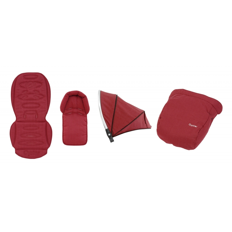 BabyStyle Oyster 2/ Max textilní set Tango Red 2018