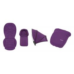 BabyStyle Oyster 2/ Max textilní set Wild Purple 2019