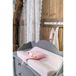 Koeka Potah na přebalovací podložku Lyon, water pink