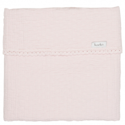 Koeka Deka Elba Lace 75x100 - water pink
