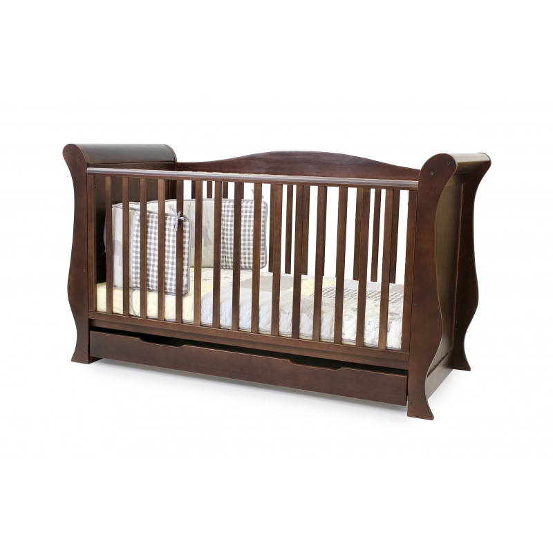 BabyStyle Hollie postýlka Rich Walnut
