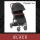 BabyStyle Oyster Zero kočárek Stealth - Speciální Edice 2017