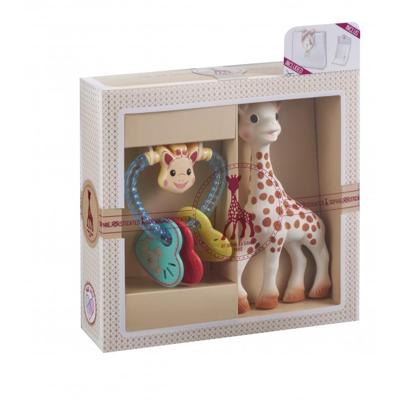 902d5013797 Nové Vulli Můj první dárkový set - žirafa Sophie   chrastítko