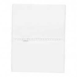 Koeka Prostěradlo Sweet Lace, 80x100cm, bílé