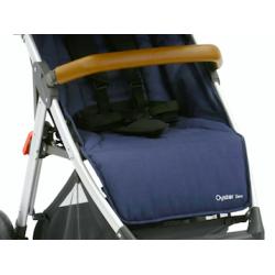 OYSTER ZERO sedací část textil v barvě OXFORD BLUE 2017