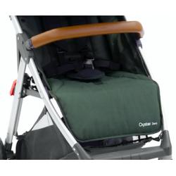 OYSTER ZERO sedací část textil v barvě OLIVE GREEN 2017